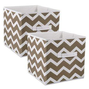 DII Foldable Fabric Storage Containers for Nurseri